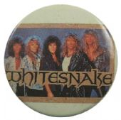 Whitesnake - 'Group in Box' Button Badge